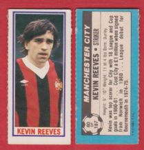 Manchester City Kevin Reeves 60